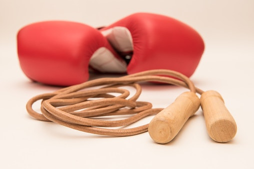Leather Skipping Rope for a Natural Feel