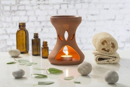 Essential Oil Burner Works Without Electricity