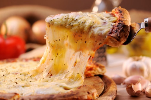 Think About the Meltability and Stretchability of the Cheese