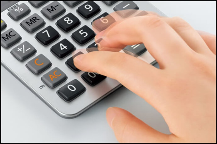 A Key Rollover Function Is Helpful for Acccurate Calculation
