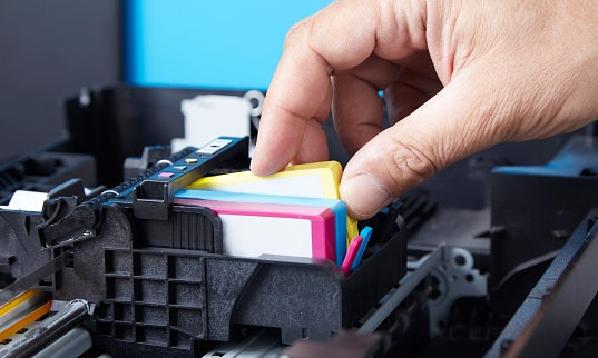Inkjet Printers Use Ink Cartridges