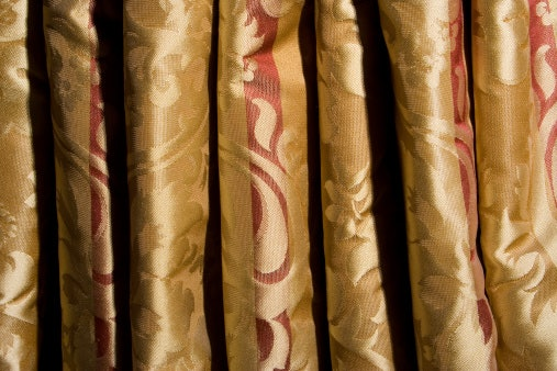 Silk Curtains Have an Aesthetic Appeal