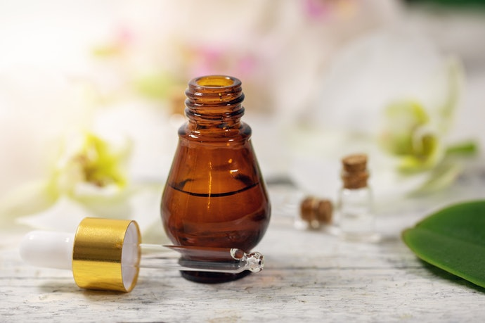 Pick the Oil Packed in Dark Colored Bottles