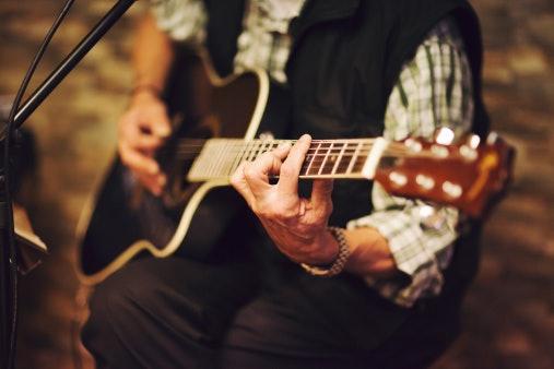 Acoustic Guitar With Steel Strings