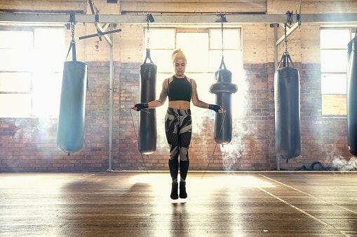 Speed Ropes Improve Footwork