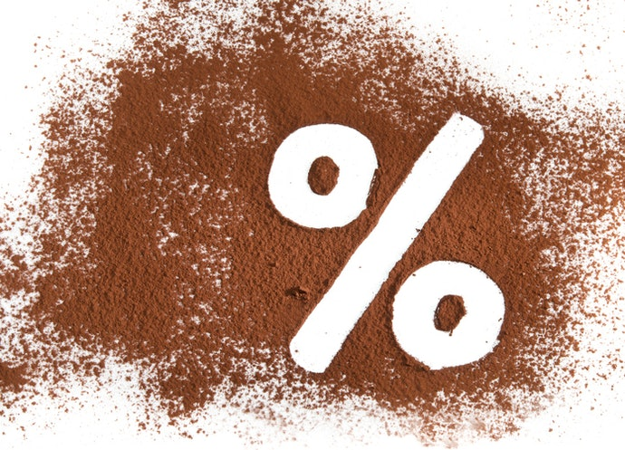 Determine Bitterness by the Percentage of Cocoa - 30%, 75%, or 80%