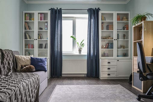Semi-Opaque Curtains for an Added Privacy