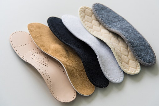 Consider the Insole and Outsole Material