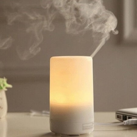 Multipurpose Ultrasonic Type Diffusers Work as Night Lamps And Humidifiers
