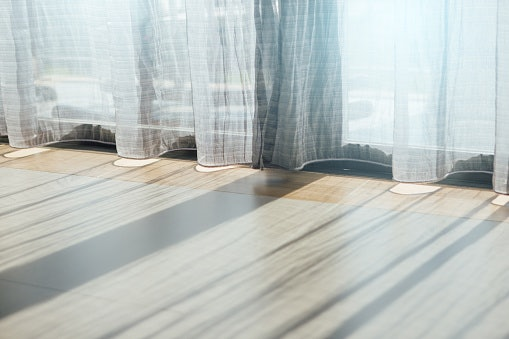 Sheer Curtains to Allow Light Into the Room