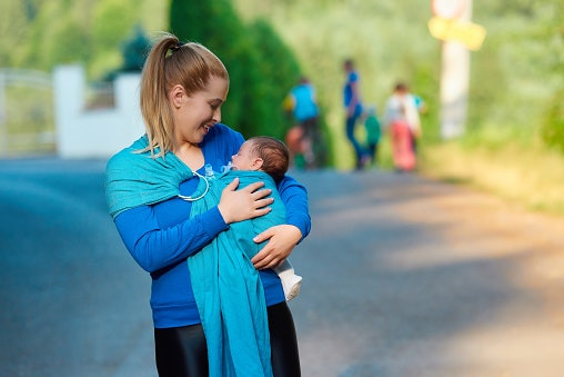Pick Ring Sling Carriers if You Are Unfamiliar With Wrapping