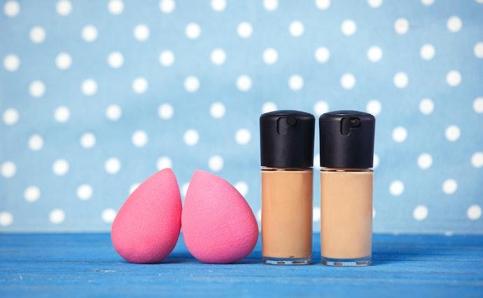 Egg Shape Is Better for Evenly Application All Over Face