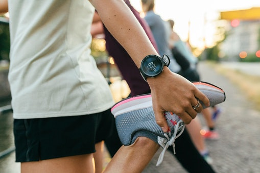 Heart Rate and GPS Features for the Health Conscious