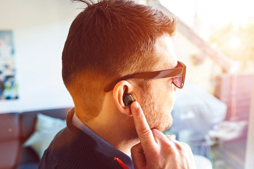 Check the Buttons or Sensors on an Earpiece for Added Convenience