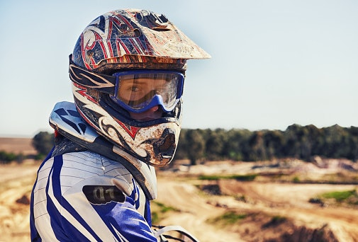Off-Road and Dual-Sport Helmets - Known as MX in India