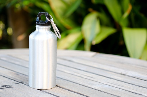 Aluminum Water Bottles Are Portable
