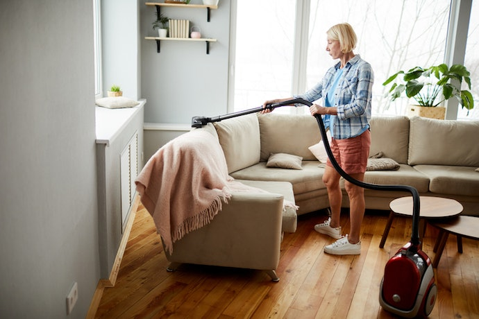 Clean Your Upholstery With Canister and Handheld Vacuum