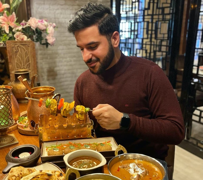 In Collaboration With a Professional Food Blogger - Arsh Deol