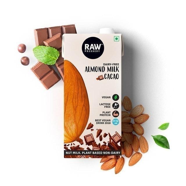 Raw Pressery Almond Milk Cacao 1
