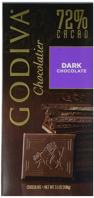 Godiva Chocolatier 72% Dark Chocolate 1