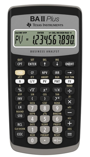 Texas Instruments  BA II Plus Financial Calculator 1