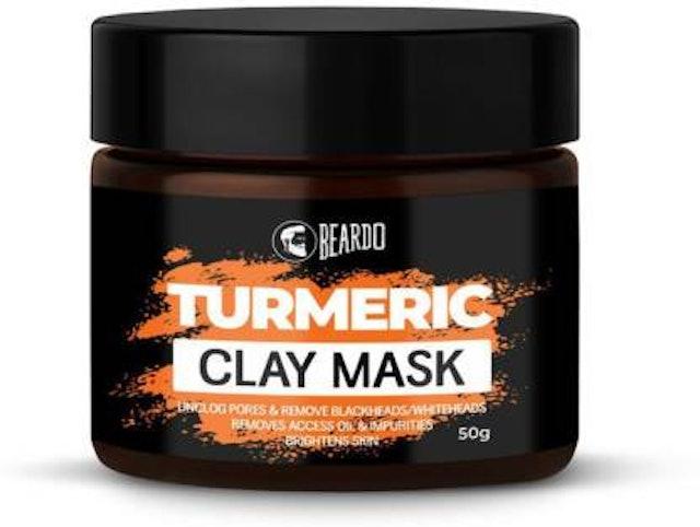 Beardo Men Turmeric Clay Mask 1