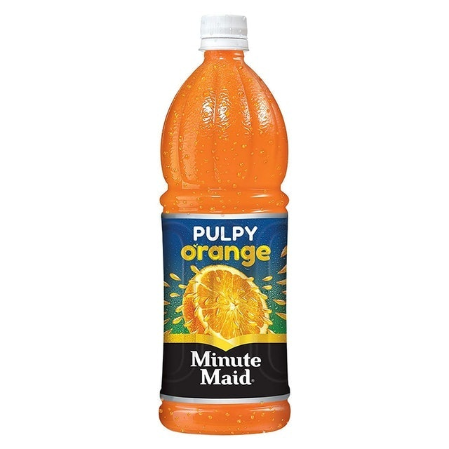Minute Maid Pulpy Orange 1