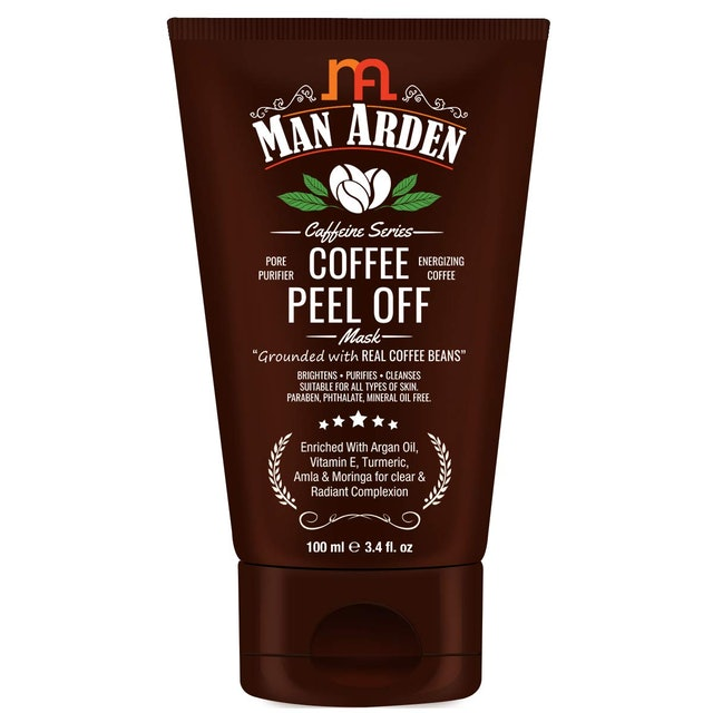 Man Arden Caffeine Coffee Peel Off Mask 1