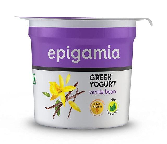 Epigamia Greek Yogurt - Vanilla Bean 1