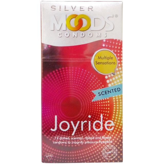 MOODS Silver Joyride Condoms 1