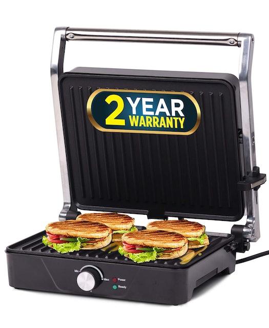 iBell Panini Grill Sandwich Maker 1