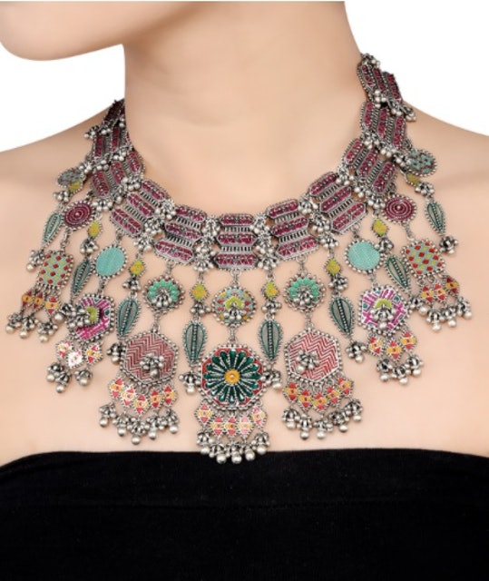 Ghungroo Necklace Set 1
