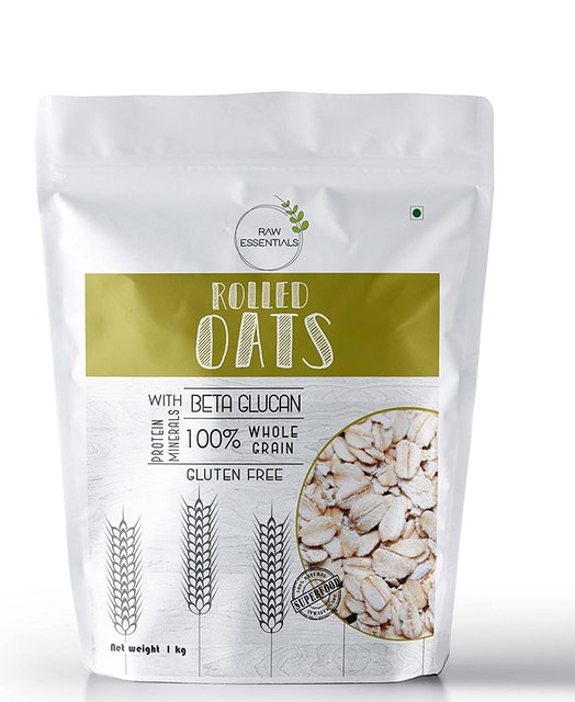 Raw Essentials Rolled Oats 1