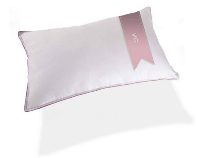 Hush  Soft Solid Polyester Pillow 1