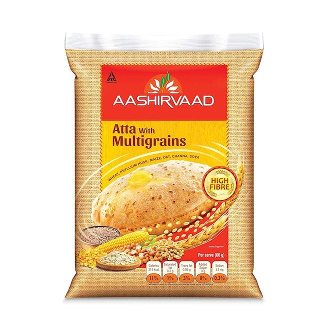Aashirvaad Atta with Multigrains 1