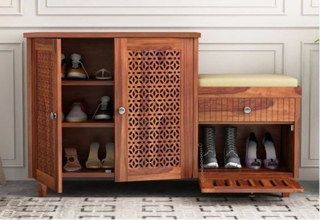 WoodenStreet Share This Product Hopkin Shoe Rack 1