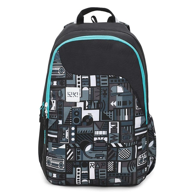 Wildcraft Black Casual Backpack 1