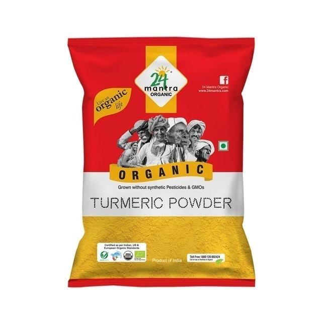 24 Mantra Organic Turmeric Powder, 200g 1