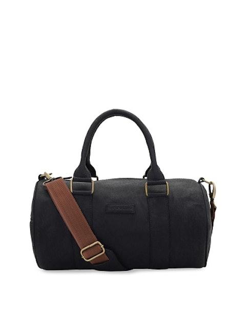 Lapis O Lupo Black Solid Duffel Bag 1