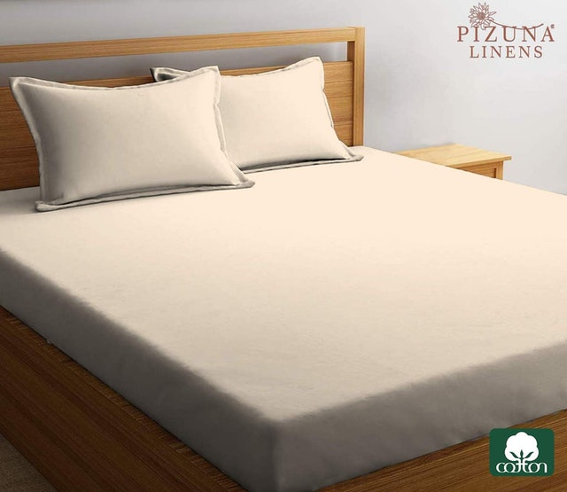 Pizuna Linens Elastic Fitted Bed Sheet 1