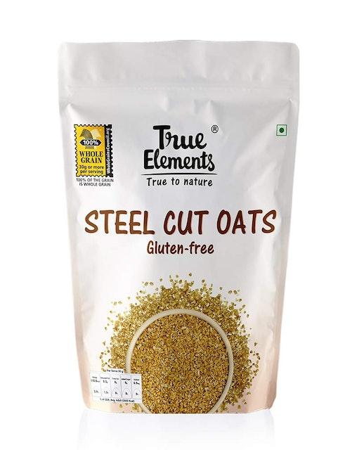 True Elements Steel Cut Oats 1