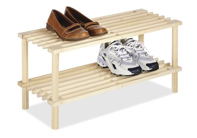 Whitmor Natural Wood Household Shelves 1