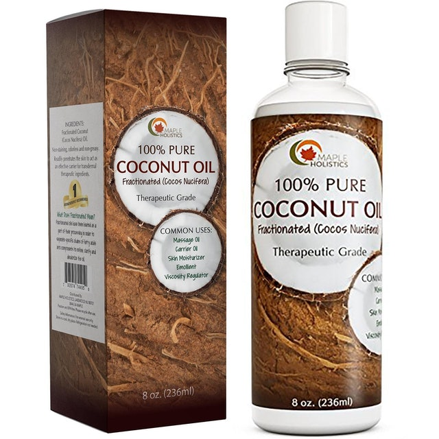 Maple Holistics Coconut Oil for Fractionated Hai 1