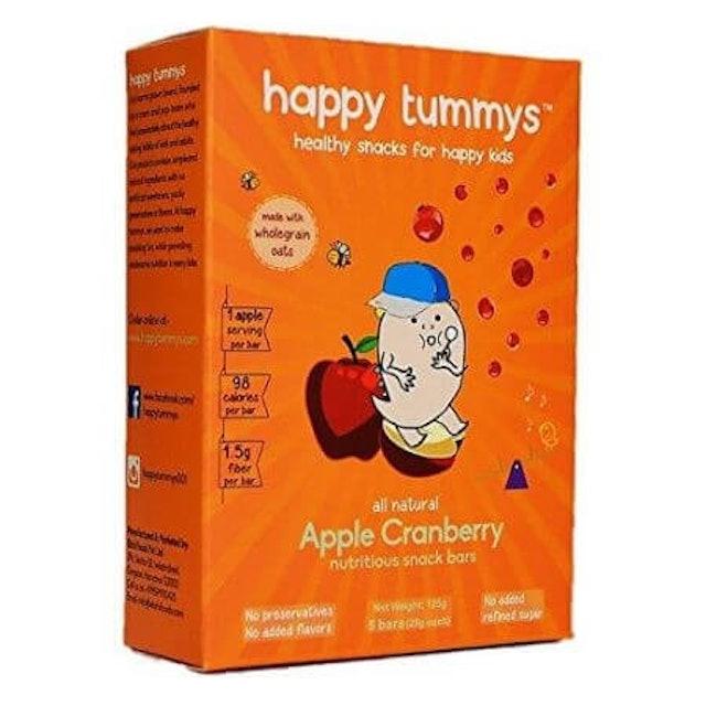 Happy Tummys  Apple Cranberry Nutritious Bar 1
