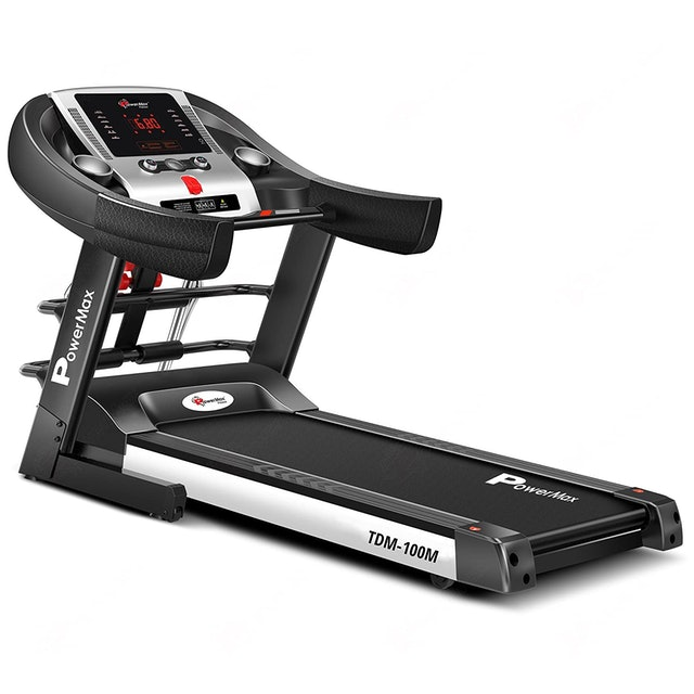 PowerMax Motorized Foldable Treadmill 1