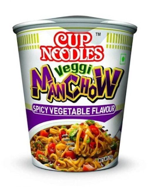 Nissin  Cup Noodles Veggi Manchow 1