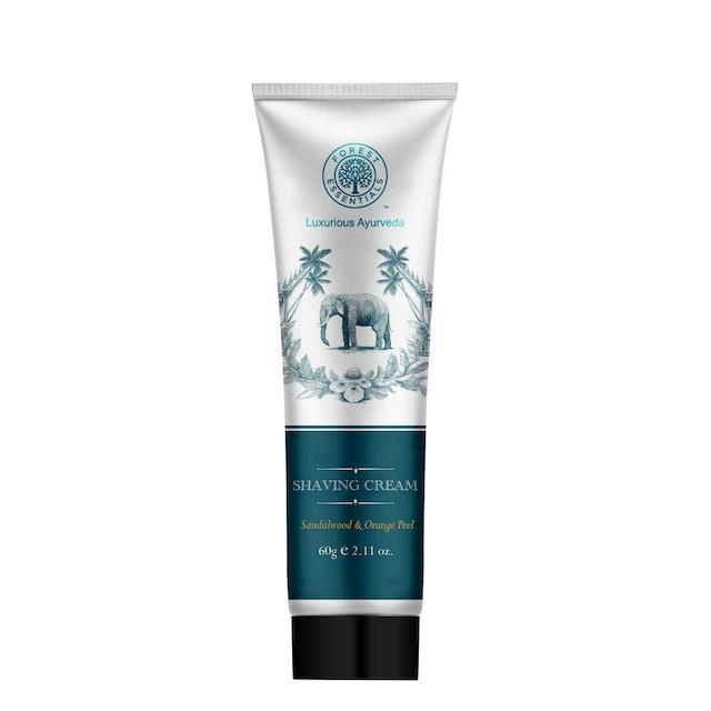 Forest Essentials Shaving Cream Sandalwood & Orange Peel 1