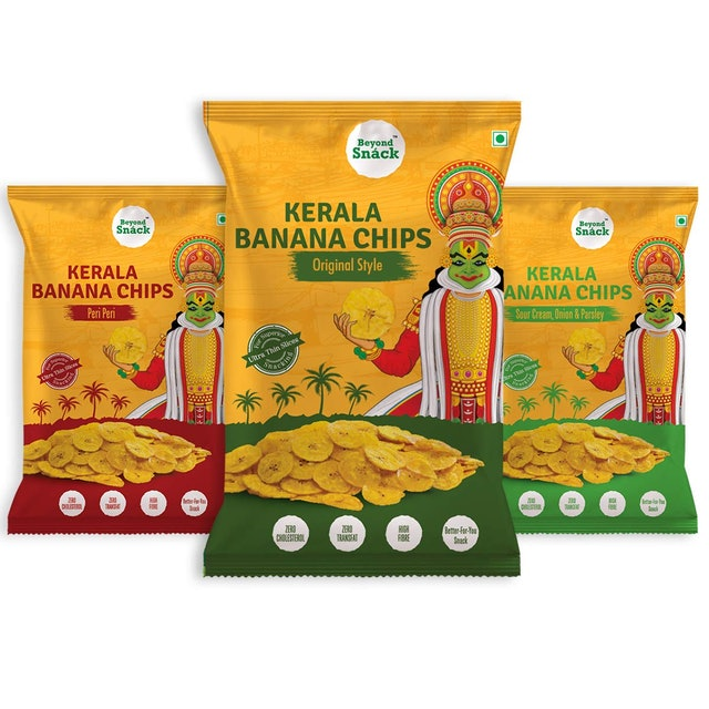 Beyond Snáck Natural  Kerala Banana Chips Healthy and Delicious Flavoured Snacks 1
