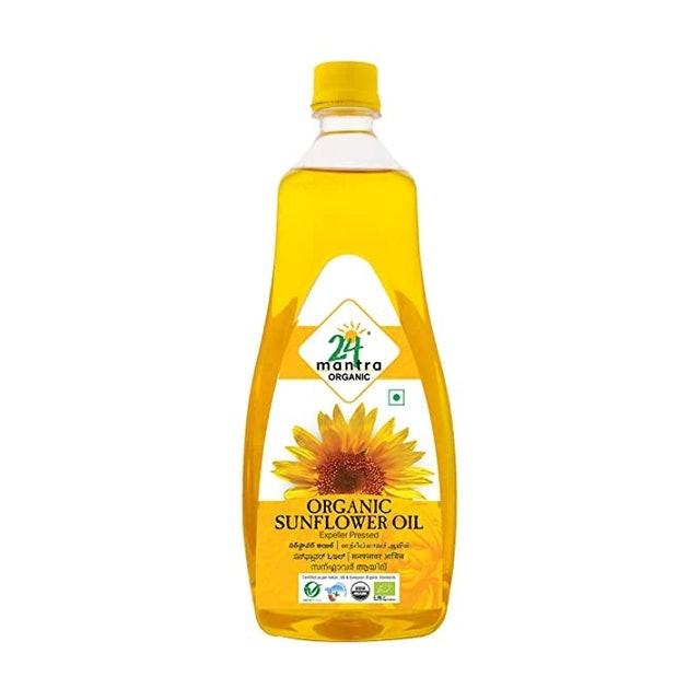 24 Mantra Organic Expeller Pressed Sunflower Oil 1