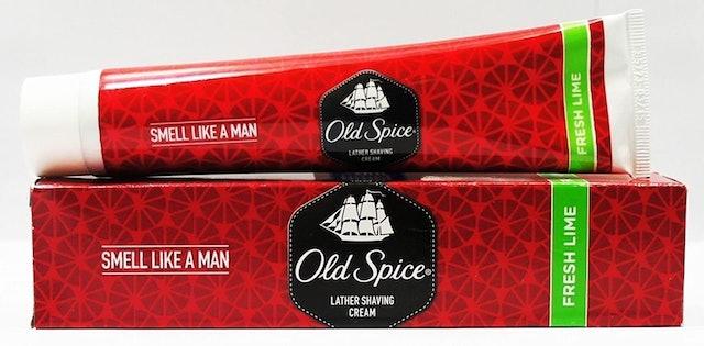 Old Spice Lather Shaving Cream 1